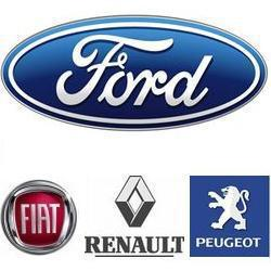 PEUGEOT, RENAULT, FIAT, FORD