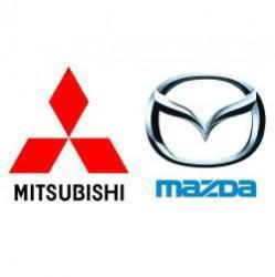MAZDA, MITSUBISHI