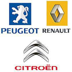 Citroen, Peugeot, Renault